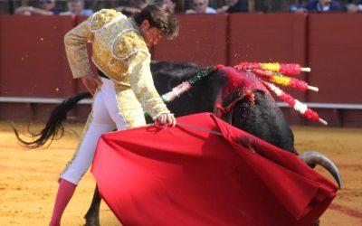 Sevilla: Buena expresión de Ángel Jiménez con los de El Parralejo