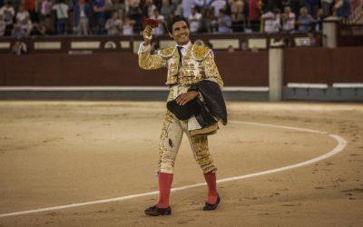 Oreja para Pablo Aguado en la tarde de su confirmación en Madrid