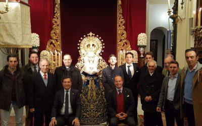 El toreo sevillano se reunió en acción de gracias en la capilla del Baratillo