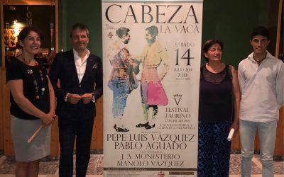 Festival con Pepe Luis Vázquez el 14 de julio en Cabeza la Vaca