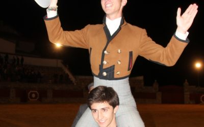 Calerito, a hombros en El Castillo de las Guardas