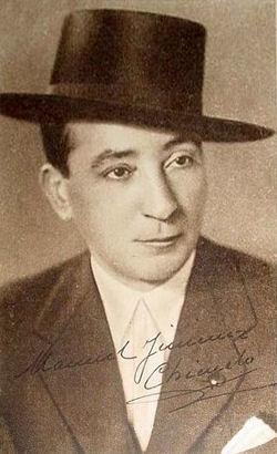 31 de octubre de 1967: Muere en Sevilla Manuel Jiménez 'Chicuelo'