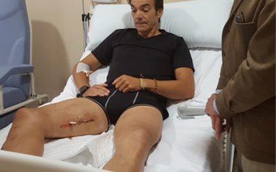 El Cid se recuperará en Salteras tras recibir el alta médica