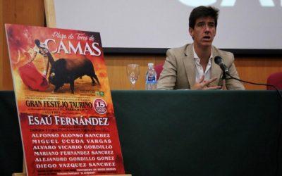 Esaú Fernández, director de una clase magistral en Camas