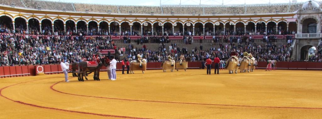 Al fin, toros en Sevilla, qué bueno