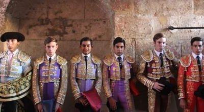 Rodrigo Pipio, Daniel de la Fuente, Alfonso Ortiz, José Fernando Molina, Alejandro Adame y Álvaro Passalacqua