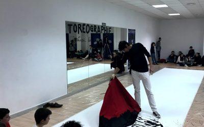 Castella y Loren llevan la tauromaquia al Liceo Francés de Sevilla