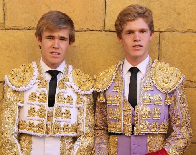 Javier y Borja Jiménez, protagonistas en los tentaderos de Las Azores