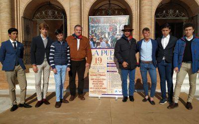 Morante presentó el encierro y la novillada de La Puebla del Río