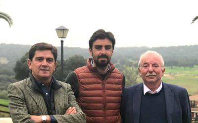 Pedro Rodríguez Tamayo y Santiago Ellauri, apoderados de Miguel Ángel Perera