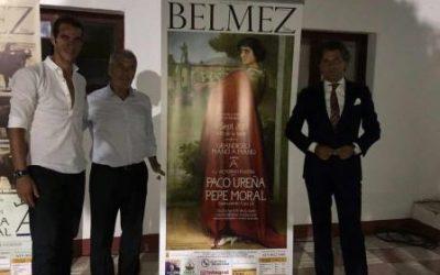 Pepe Moral y Paco Ureña, con una de Victorino en Belmez