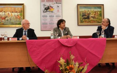 Diego Ventura, en las Jornadas del Círculo Taurino de Osuna