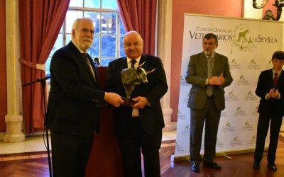 El Colegio de Veterinarios de Sevilla entregó su premio a Jandilla