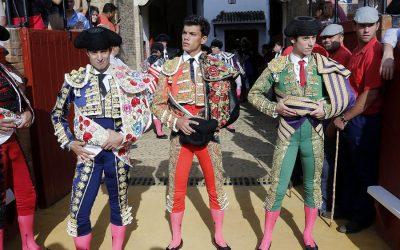 Novillada – Santana Claros, Javier Moreno 'Lagartijo' y Rodrigo Molina