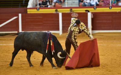 Pepe Moral indulta un toro de Victorino en Illescas