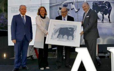 Luis Carlos Peris recibió el XI Premio Manuel Ramírez