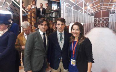 Homenaje a Diego Ventura y Rafael Serna en Sicab