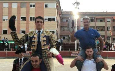 Rafael Serna, triunfador de la Feria de Blanca