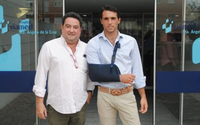 Rafael Serna recibió el alta hospitalaria