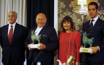 Pepe Moral y Torrestrella recogen los premios del Gran Hotel Meliá Colón